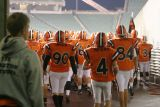 through the tunnel to take on harrison