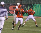 daniel's pass to alex barden in the end zone late in the 4th quarter