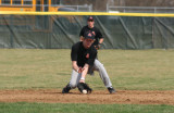 t makes a play at second