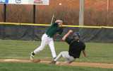 adam slides into second