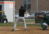 matt at the plate