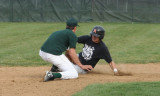 daniel slides into second base