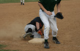 ethan slides into third