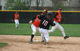 throw to second on the attempted steal