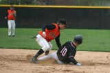 tony puts the tag on at second - - runner is OUT