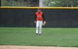 adam in a puddle in left field