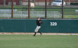 jake makes a catch in right field