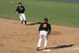 ethan makes a play at second