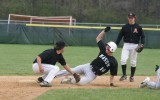 matt tags the mason runner at second