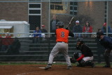 justin at the plate