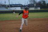 adam heads to third base