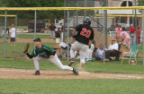 jake beats the throw to first