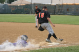 jakes makes a play at first