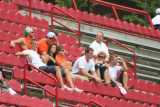 class of 2007 in the stands