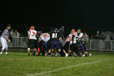 into the end zone