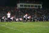 redskin defense in front of large glen este crowd