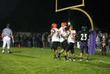 celebration in the end zone