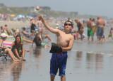 patrick on the beach