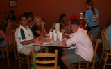 the family at dinner