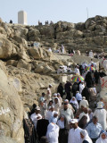 Way up to Jabal Rahmah - Where Adam and Hawa (Eve) were reunited