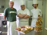 Elliott Blass (left) - old friend from Brooklyn & world renowned psychologist - showing his true colors as a chef in France :-)