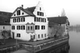 Old Postcard of Stein am Rhein in the 21st Century 2