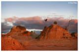 0443b- Mungo lunette at sunset