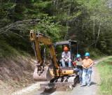 Goat Creek FS Rd 2750 Grading and Brushing
