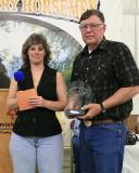Volunteer hour coordinator award, Judy Smith