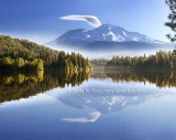 Hermes' Wing - Mount Shasta Reflected in Lake Siskiyou