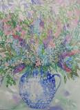 wild flowers £250 inc double mount & frame