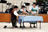 Playing the cow bells (Bavarian)