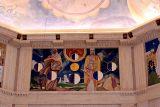 Frescos in the Rotunda