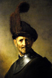 Old Man in Military attire - Rembrandt