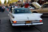 Fin View of 1961 Chrysler New Yorker four door hardtop