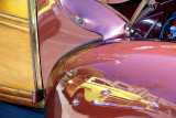 Reflection: Woodie in a woodie fender