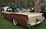 Fin View of a 1956 Chrysler New Yorker St. Regis Hardtop. Virgil Exner's Forward Look Fin Era at Chrysle