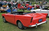 Rear View-Sunbeam Alpine