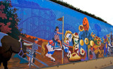 Infield tunnel mural