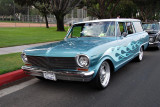 Possibly 1961, 1962, or 1963 Chevy Nova Wagon