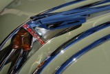 Chief Pontiac Hood Ornament on 1949 Pontiac