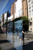 Window Reflection of Broadway at Bond Street