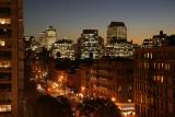 Downtown Manhattan after Sundown