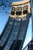 NYU Courant Institute of Mathematics - SUV Window Reflection