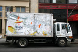 Finlandia Vodka Delivery Truck