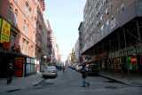 Elizabeth Street - Uptown View from Bayard Street