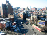 Avenue with Skyline View  of Lower Manhattan & Jersey City NJ