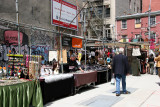 Flea Market at Spring Street Intersection