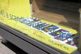Scandinavian Store Window - Dick Tracy Illustrations