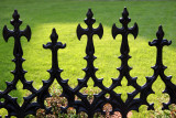 Fence at Grace Church Yard